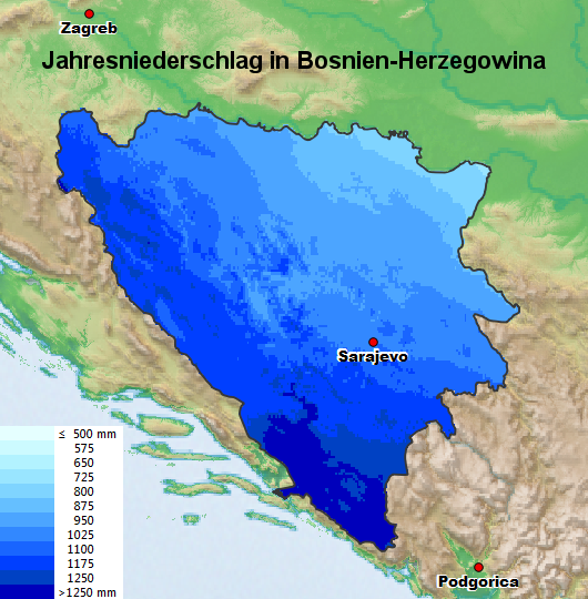 wetter in bosnien