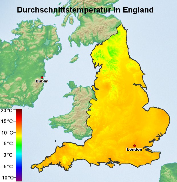 england wetter 7 tage